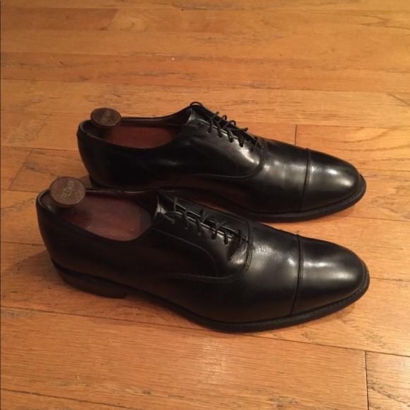 Allen Edmonds Shoes Park Avenue Captoe Oxford Black Poshmark